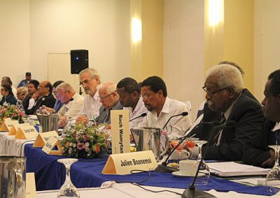 The Commission on Decolonization Meeting
